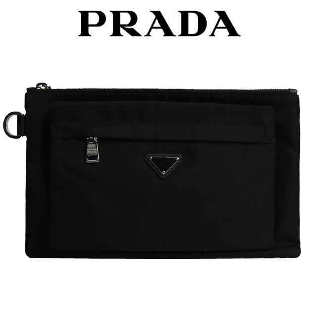 프라다 프라다 로고 클러치백 2NG012 064 F0002