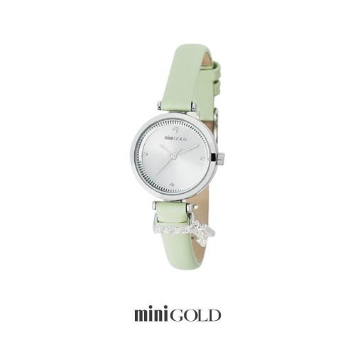 미니골드 [미니골드]심플 롤렛 시계 민트 W172LWMT