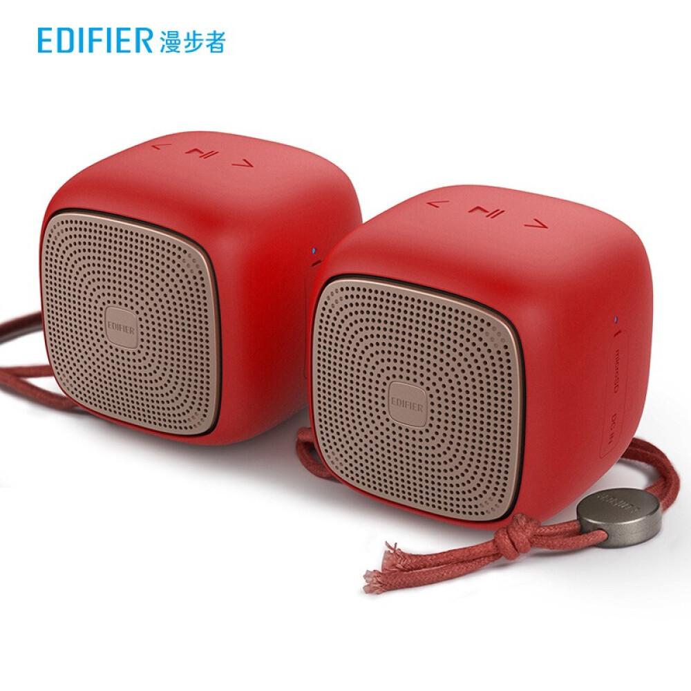 EDIFIER 만보 자 BUN & 전 무선 스테레오 휴대용 스피커 블 루 투 스 미니 중국 빨간색