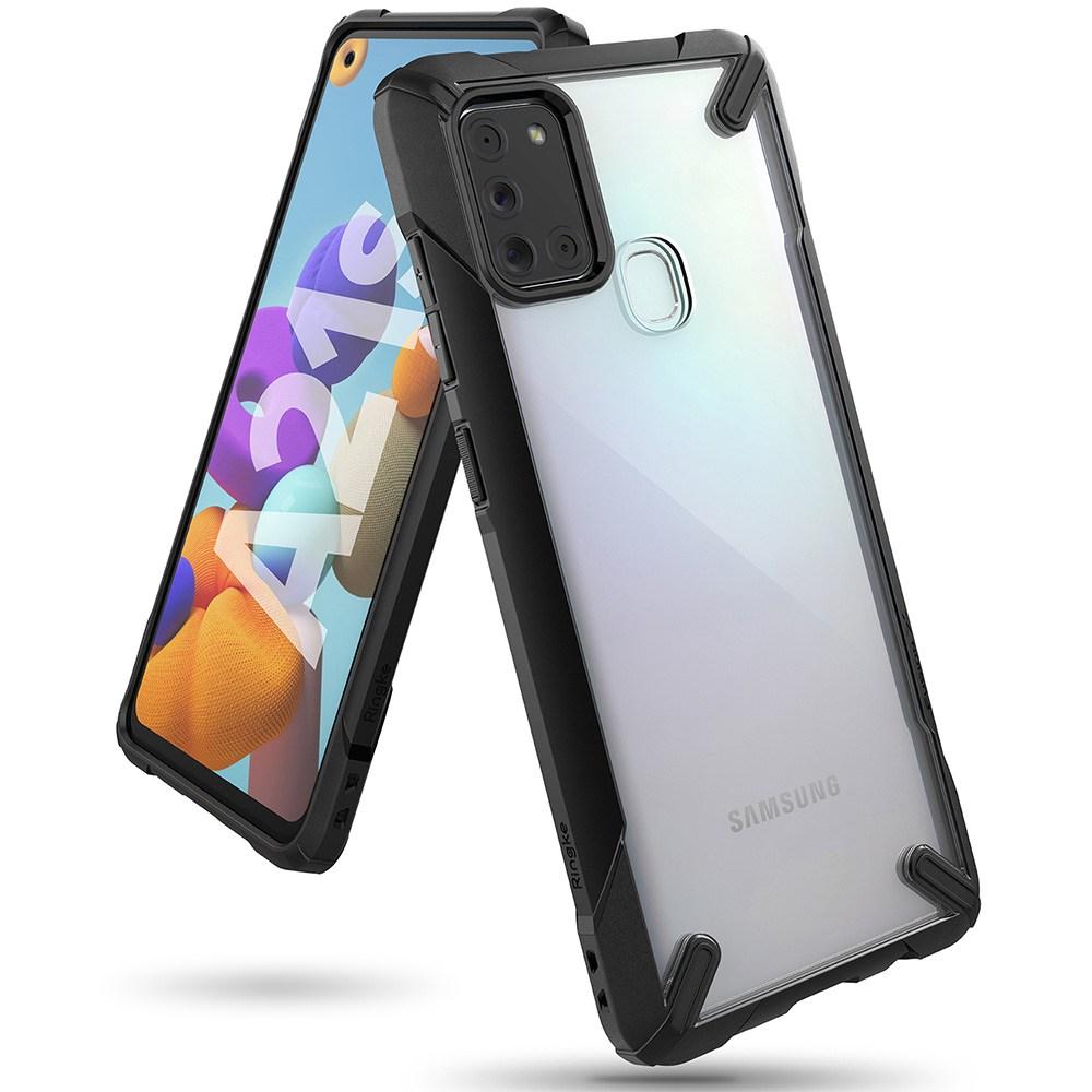 링케 갤럭시A21S 링케퓨전X 케이스 휴대폰
