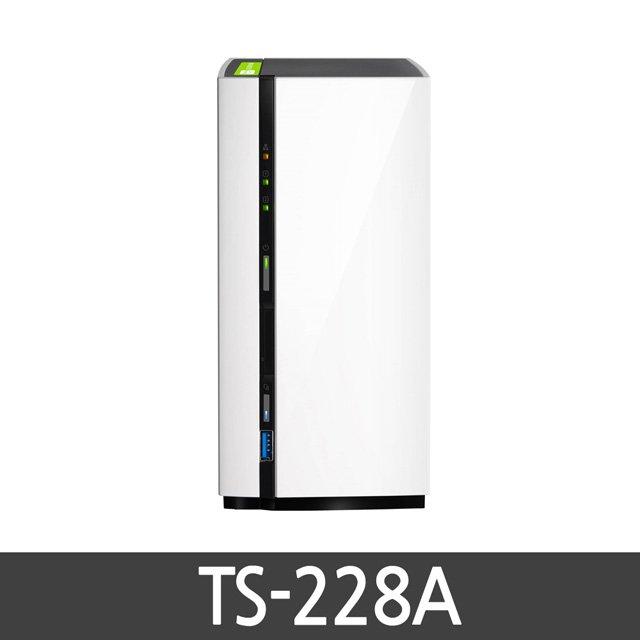 큐냅 TS-228A NAS 서버 스토리지 2베이 쿼드코어