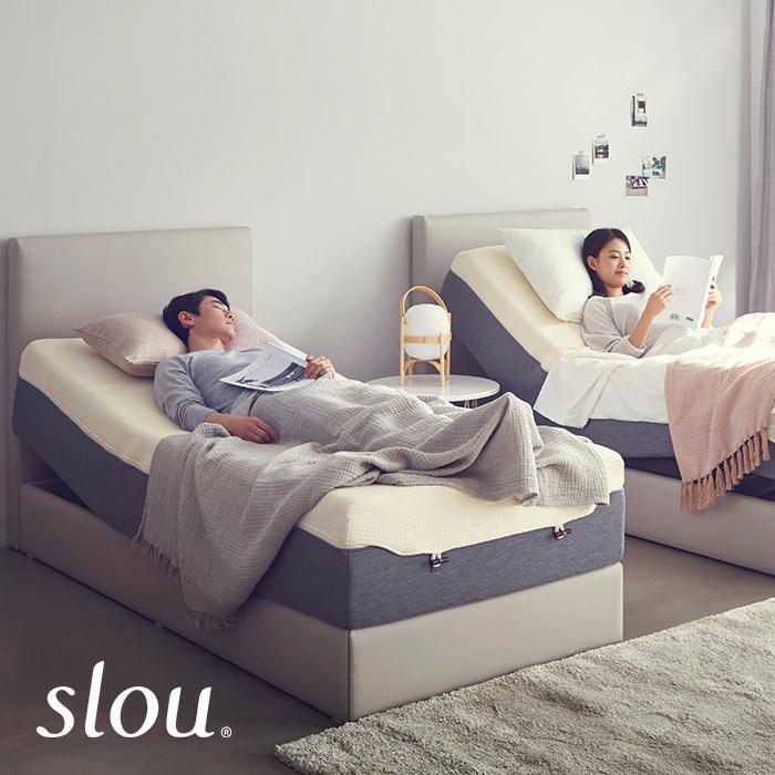 슬로우 모션베드 헤드형 SS 접이식침대, USB 좌형