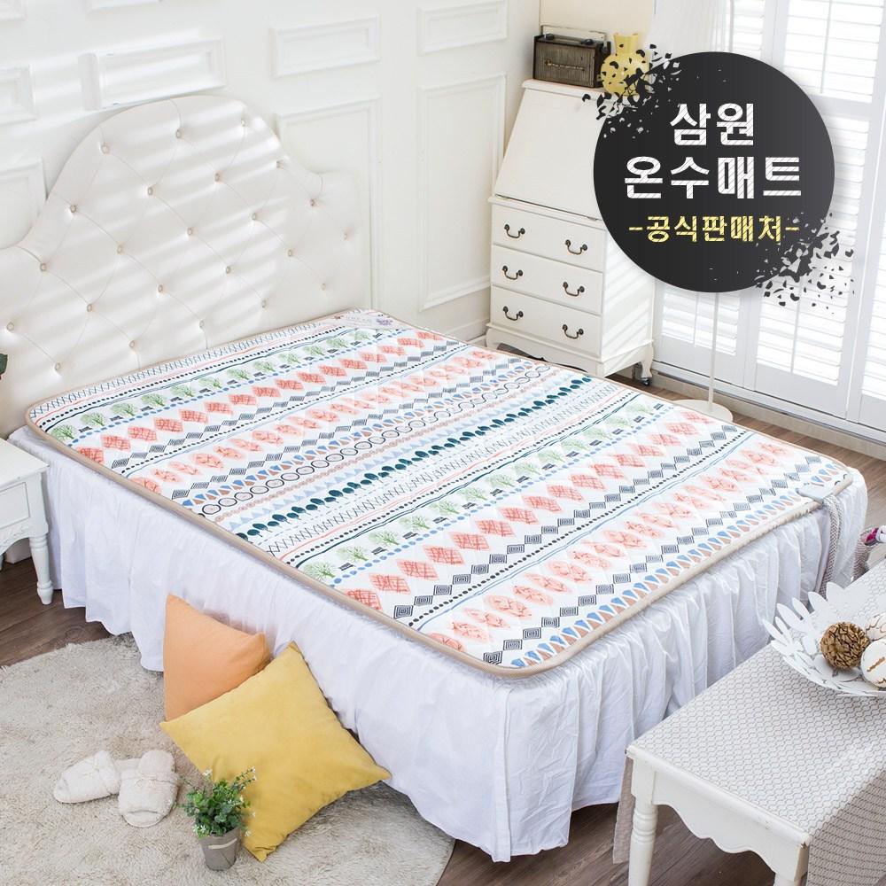 삼원 온수매트 21년형 더블 분리난방 에코 퀸 + 매트커버 증정 한정판매 사은품증정
