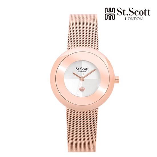 [본사정품] St.Scott London 세인트스코트 ST3045RWR 여성시계