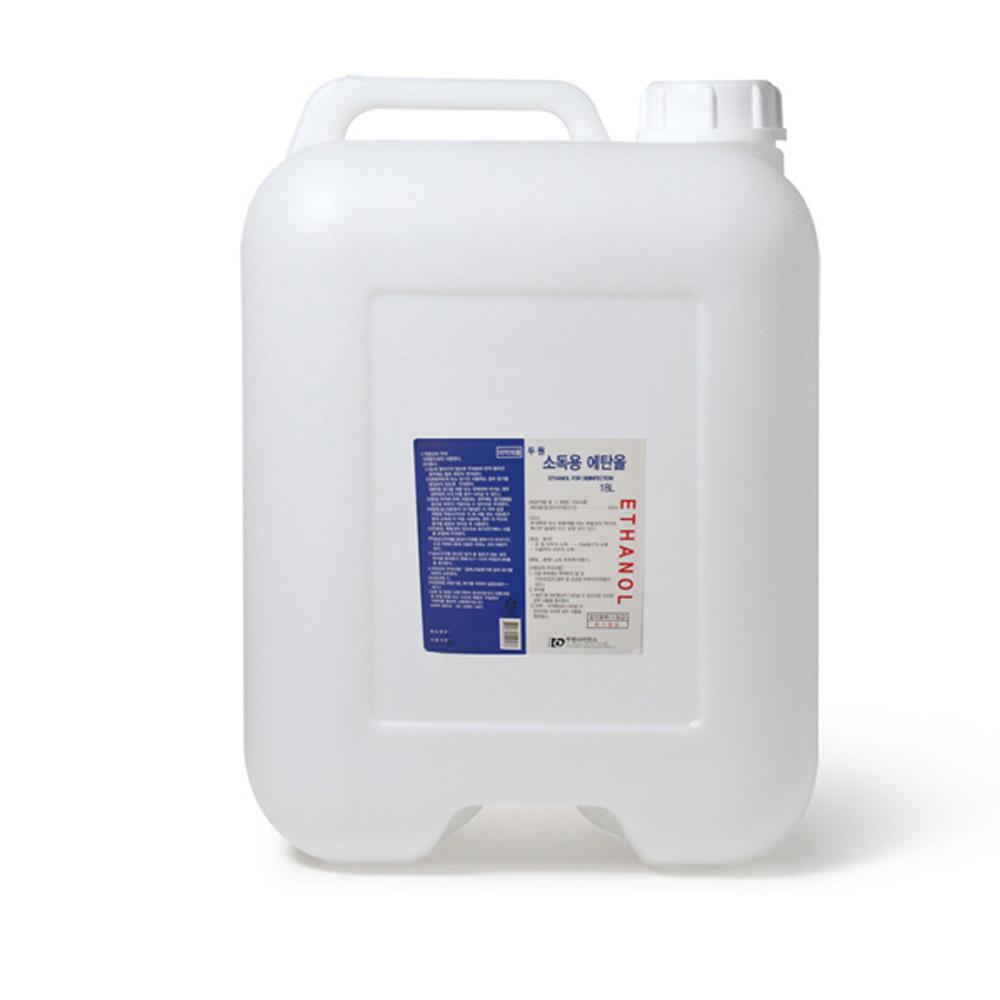 두원 소독용에탄올 18리터 83프로 (POP 4544140036)