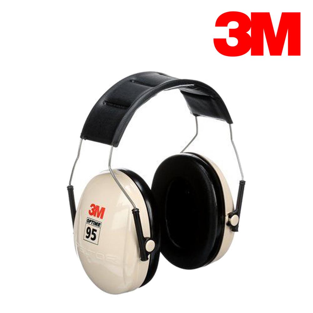 3M 헤드밴드형 귀덮개 H6A 21dB 95dBA까지 사용 경량 넓은폼쿠션 편안 방음 헤드셋 청력보호구 소음방지 사격 학생 건설 현장 귀마개, 1개