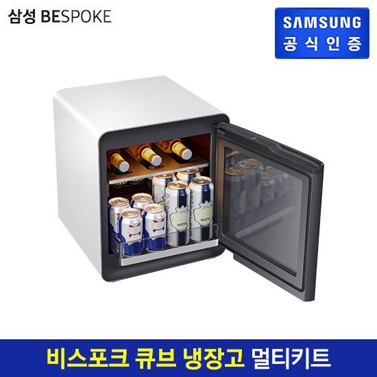 [E] 삼성 비스포크 큐브 냉장고 멀티 CRS25T95000, 코타 화이트 (POP 5227820867)