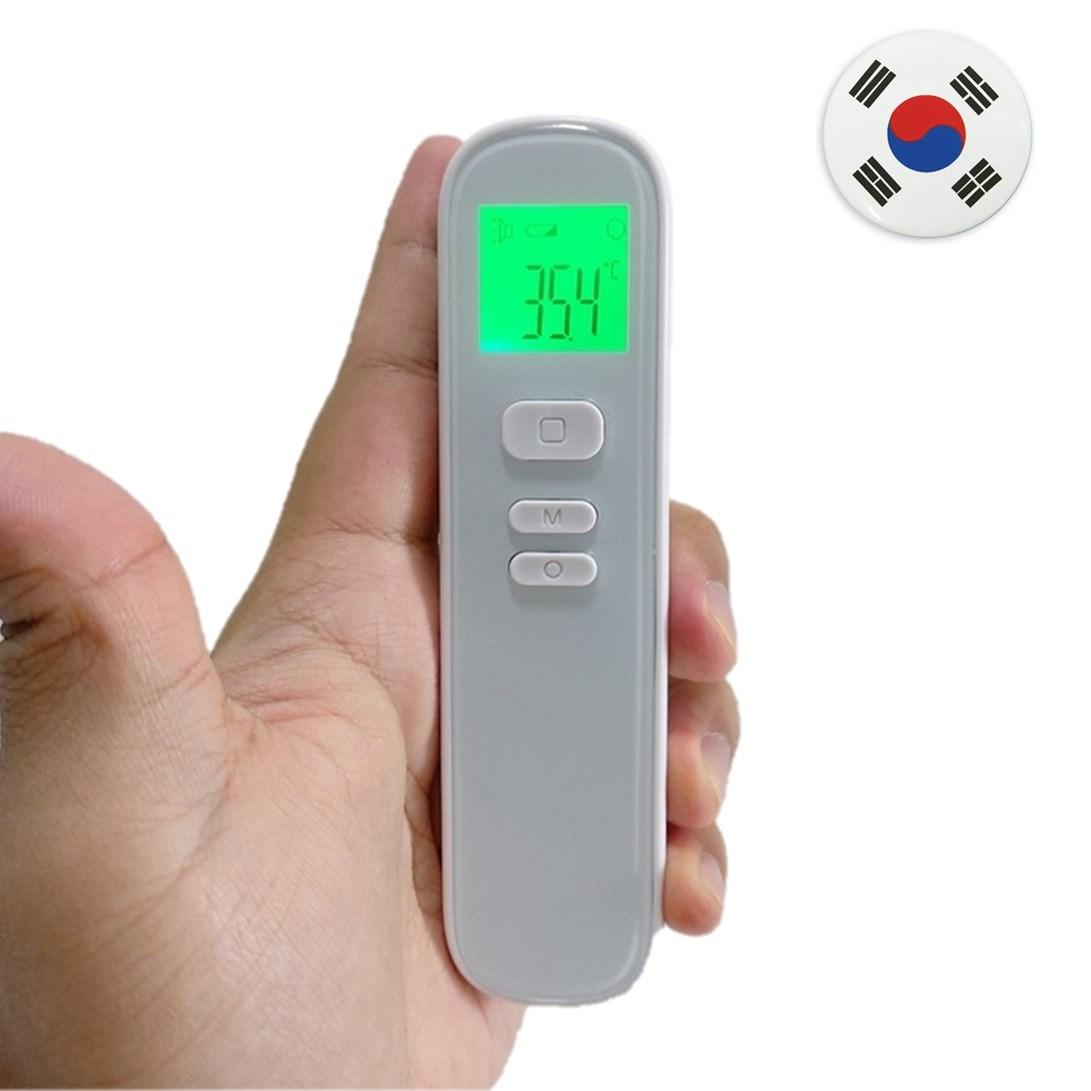 국산 비접촉 귀 이마 열 적외선 체온계 비접촉식 온도계, 국산 체온계