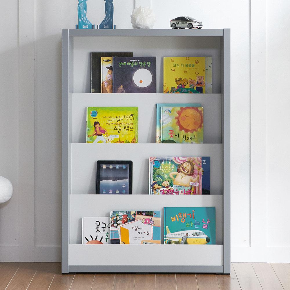 빙고 840 전면 책장 책진열대 미니 유아 아기책장, 빙고 수납박스 (단독 구매 불가), 아이보리