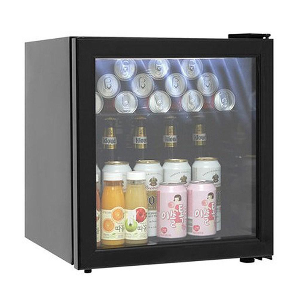 씽씽코리아 미니냉장고 음료냉장고 LSC-60 LSC-92 LSC-92(LED) 음료쇼케이스, LSC-60(블랙) (POP 2002314921)