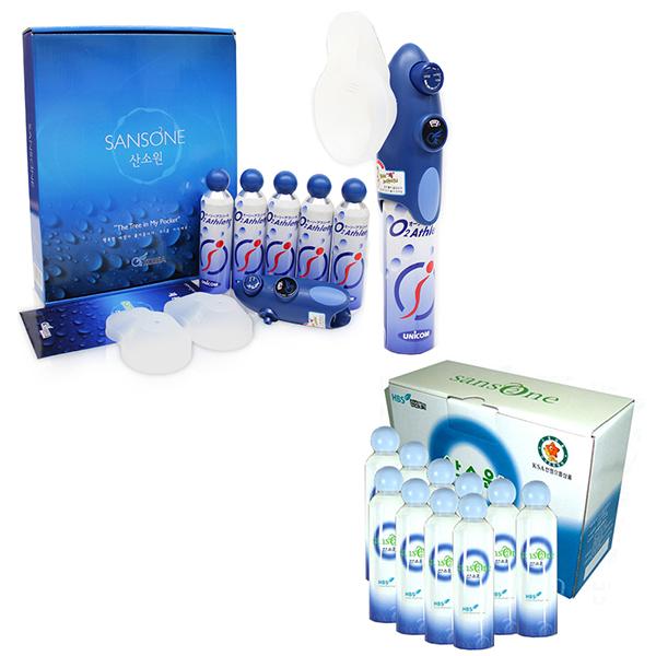 (응급/구급/호흡산소) 휴대용 산소공급기 산소원 GB5(리필캔5개) + 리필산소캔 10개 1박스 (휴대가 간편한 산소공급기) (POP 5092737566)