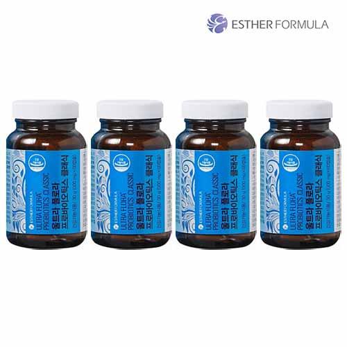 여에스더 울트라플로라 프로바이오틱스 클래식 4병, 단품, 단품