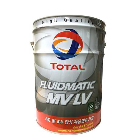 [멸치쇼핑]토탈쿼츠 미션오일 플루이드 매틱 FLUIDMATIC MV LV 20L, 상세페이지 참조