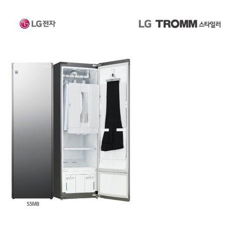 [방송]LG트롬 스타일러 플러스[블랙에디션] 5벌+바지 S5MB, 없음