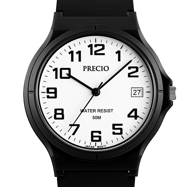 수능시계 날짜 아날로그 남자방수손목시계 (케이스포함)