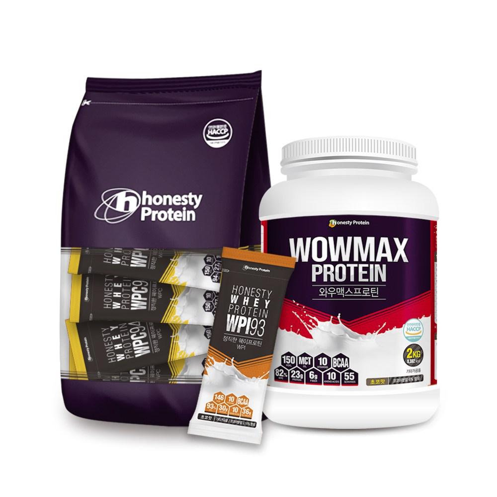 정직한프로틴 단백질보충제 쉐이크 휴대용 와우맥스 농축유청단백 wpi wpc, 와우맥스 프로틴 10개입