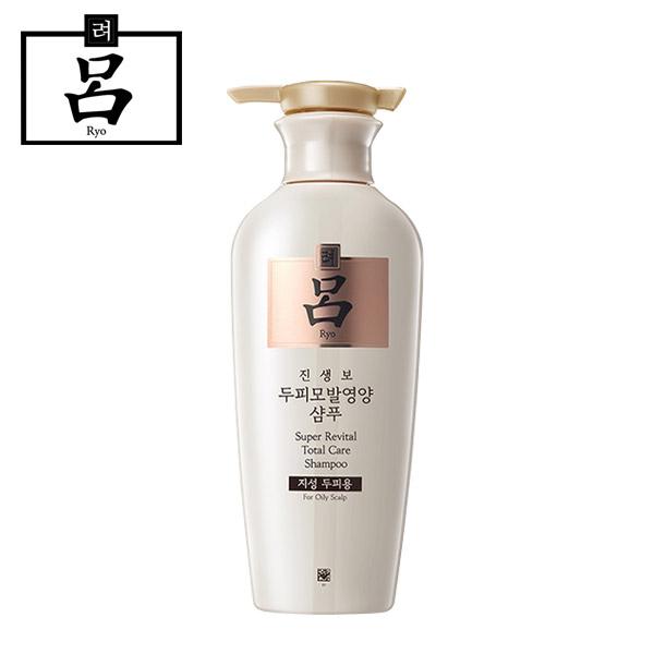 [무료배송]려 진생보 두피모발영양 샴푸(지성두피용)400ml, 1개