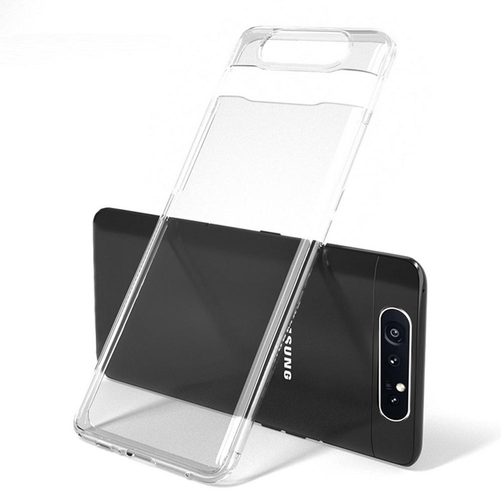 [더나은폰] 삼성 갤럭시 A80케이스 투명 일체형 drop 방지 설계
