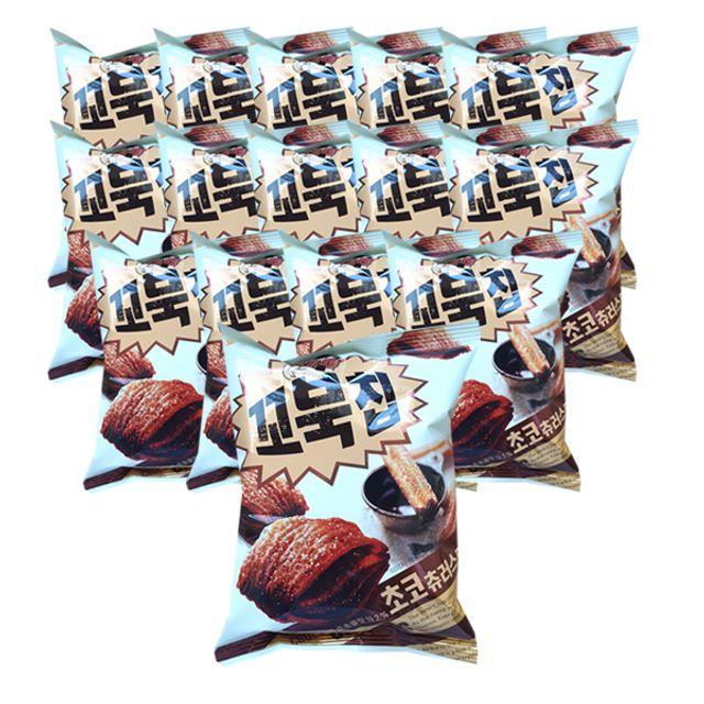 [오싸다]오리온 꼬북칩 초코츄러스맛 65g x 20개_*0*, 1