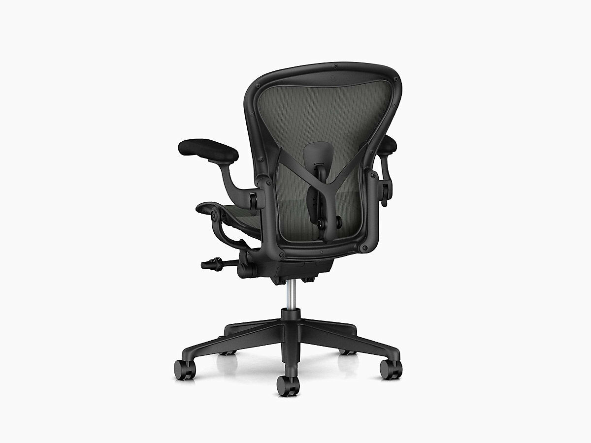 Herman Miller Aeron chair Remastered Brand New Fully adjustable Warranty C Size