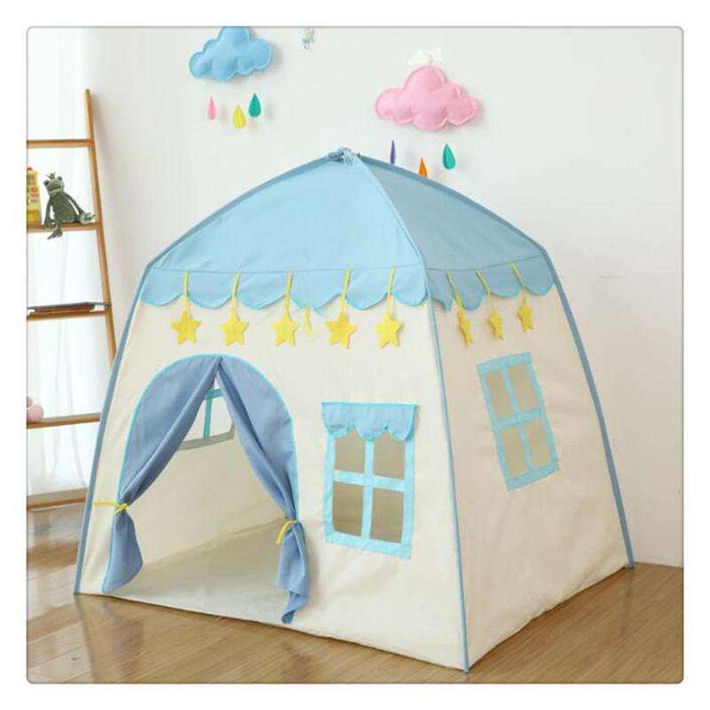 티피 실내 어린이 텐트 놀이방 아기 잠자기 놀이방, A