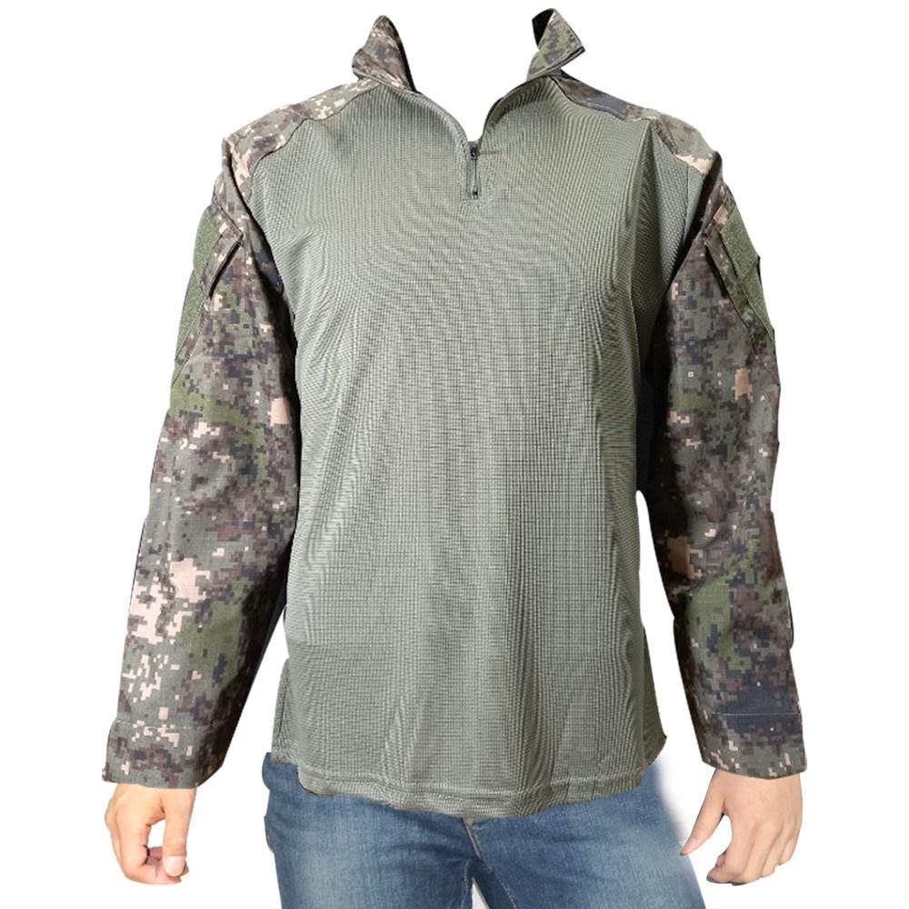 전술 컴뱃셔츠 긴팔 밀리터리 택티컬 군인 군대 군용 티셔츠