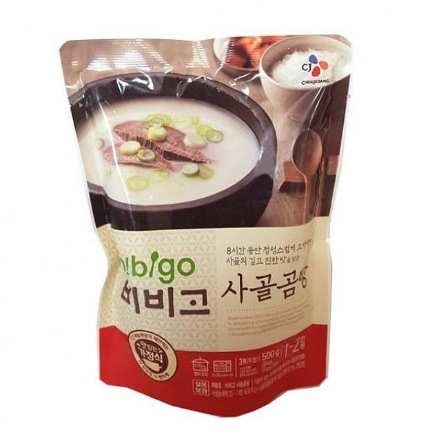 코코 비비고 사골곰탕500g 즉석탕 찌개 1