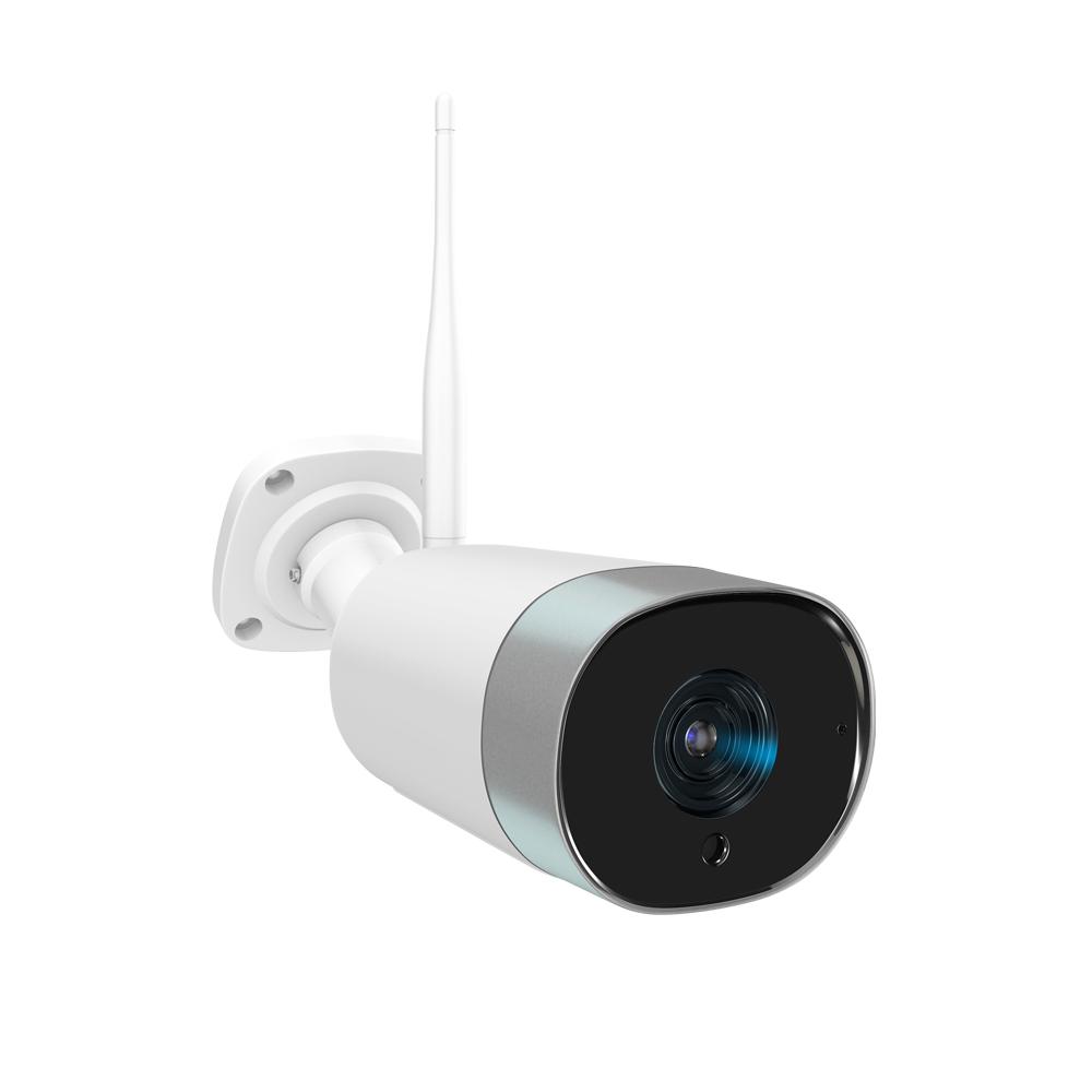펭카 FULL HD 200만화소 가정용 홈CCTV IP네트워크 실외형 적외선 카메라 미캠 CA204 아기모니터, 미캠 실외 홈 카메라(CA204)