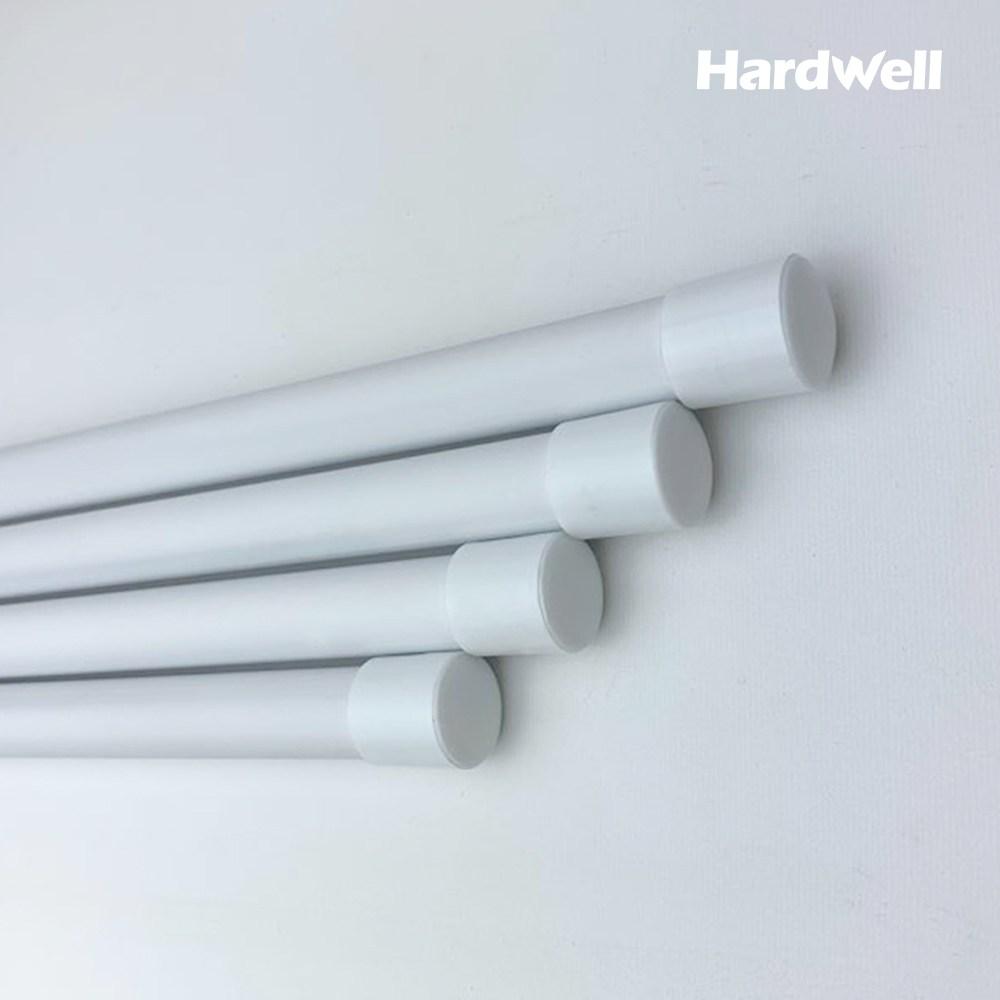 하드웰 천장 빨래 건조대 부속품 PVC 코팅봉 4개_19.1파이(봉길이 193cm), 1set