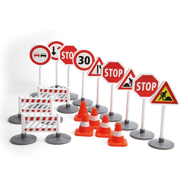레나 교통안전표지판 장난감 자동차장난감, 단품