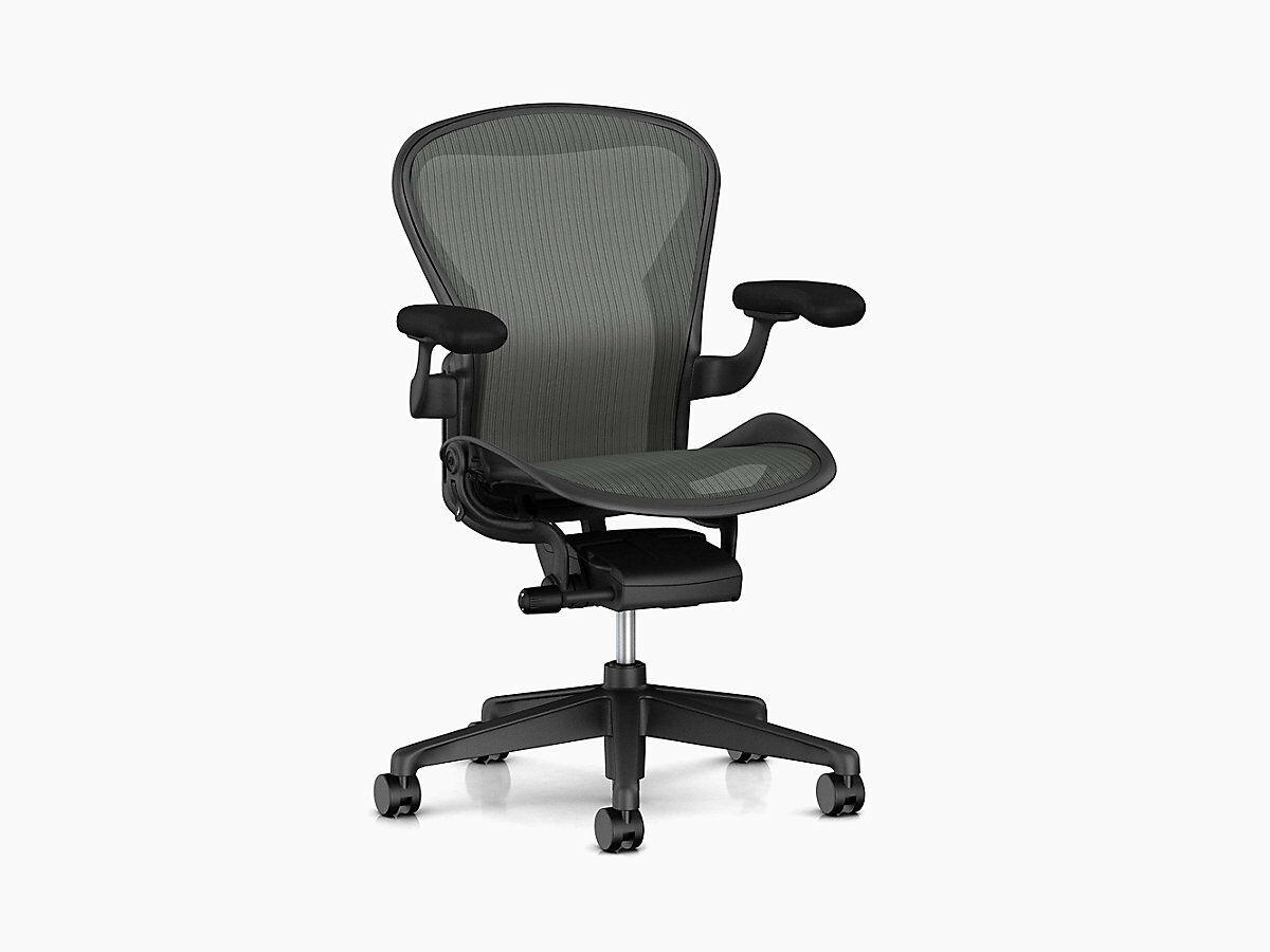 Herman Miller Aeron chair Remastered Brand New Basic Model Full Warranty C Size