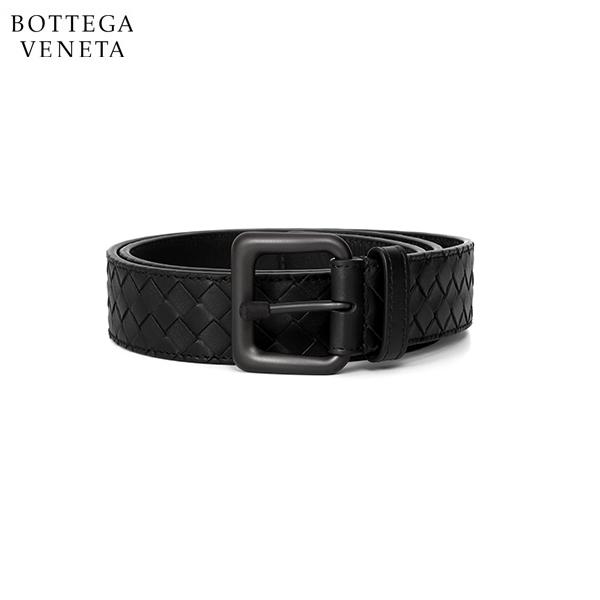 명품 보테가베네타 BOTTEGA VENETA 271932 V4650 1000 인트레치아토 VN 벨트 블랙