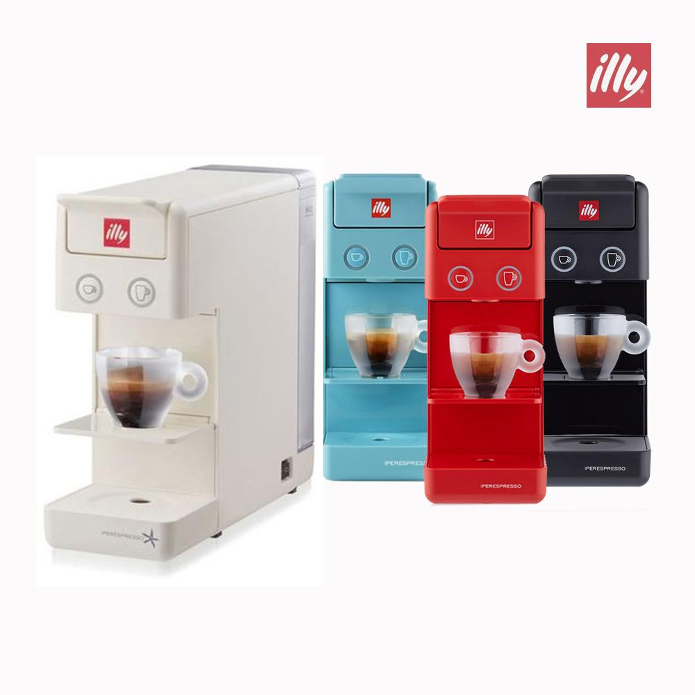 일리 Y3.2 프란시스 캡슐 커피머신+14캡슐 샘플, 블랙