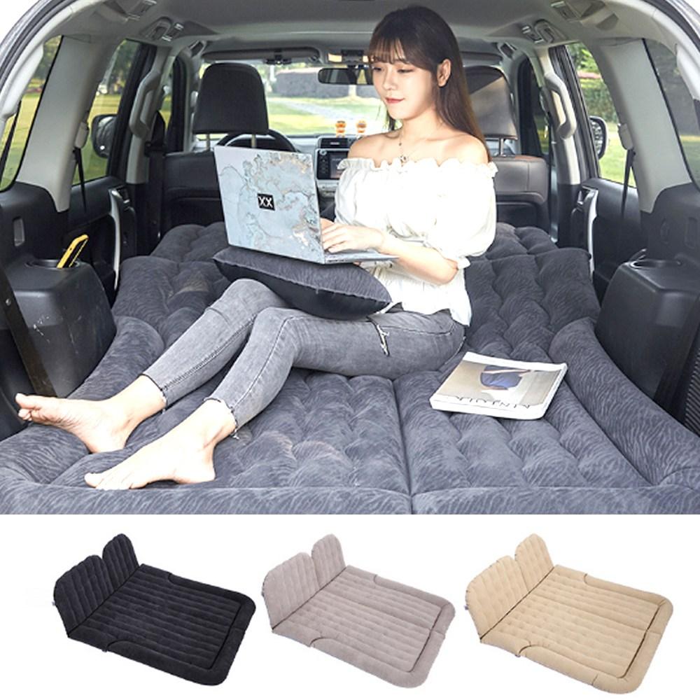 차박 에어매트 캠핑 피크닉 트렁크 뒷좌석공용 쿠션 매트 SUV GT카 BMW 벤츠 현대 기아 등 [00369], 1번