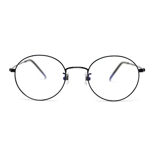 안녕안경 패션 남자 여자 안경 동글이 국산 베타 티타늄 씬 안경테 49 SIZE