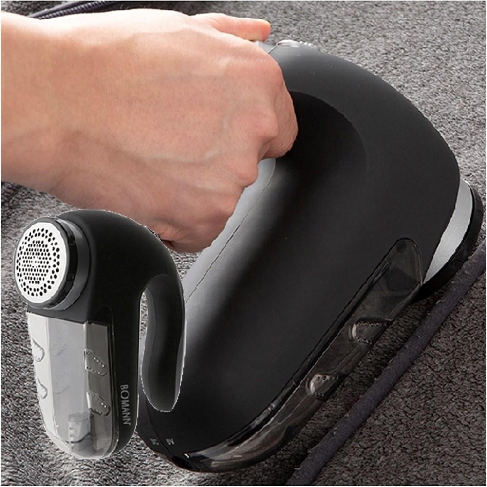 세탁소용보풀제거기 3중커팅날 180x144x74mm 전문가용 보풀기