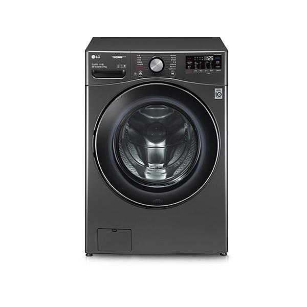 LG전자 F21KDD 드럼세탁기 21kg 인버터 DD모터 트루스팀 터보샷 블랙스테인리스