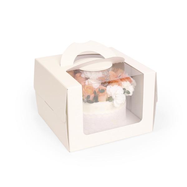 누드 케이크 상자, 받침제외, 아이보리상자