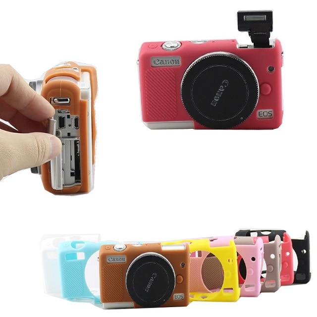 캐논 Canon 미러리스 EOS M100 실리콘 케이스 커버, 핑크