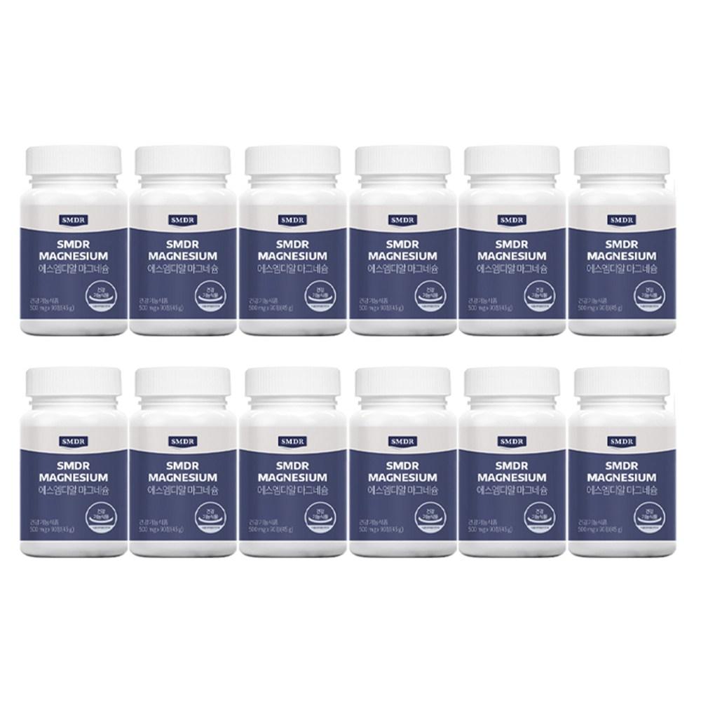 SMDR 에스엠디알 마그네슘 12병(12개월), 1