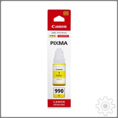 64 쇼핑나들이 / 캐논정품 정품무한잉크 GI-990Y 노랑 G1910 7 000매 PIXMA G2910 무한리필잉크, 단일 수량, 단일 색상