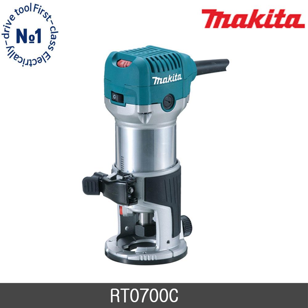 마끼다 RT0700C 트리머 6mm 8mm 홈파기 목공용, 단품 (POP 1131292851)