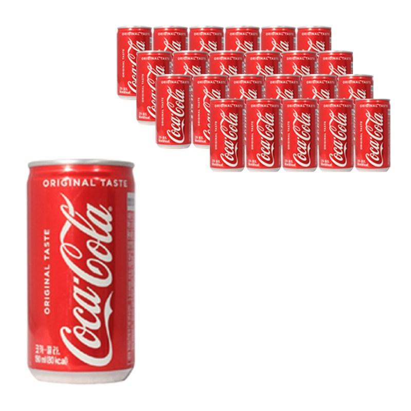 코카콜라 미니캔 콜라 190ml (업소용), 24개