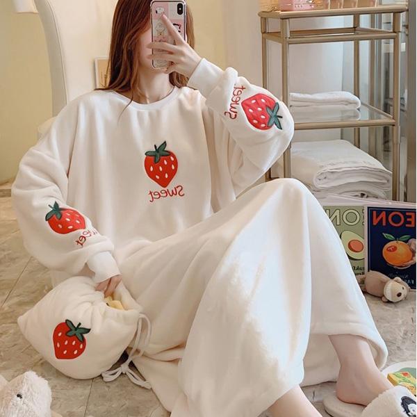 홈블리아 러블리 수면 원피스잠옷 파자마