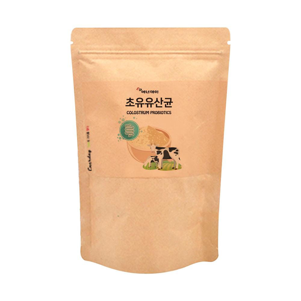 에너데이 초유유산균 가루 초유분말 포스트바이오틱스 가세리 루테리 신프로바이오틱스 방탄 뚱보균 보장균수 혼합유산균 150g, 1세트