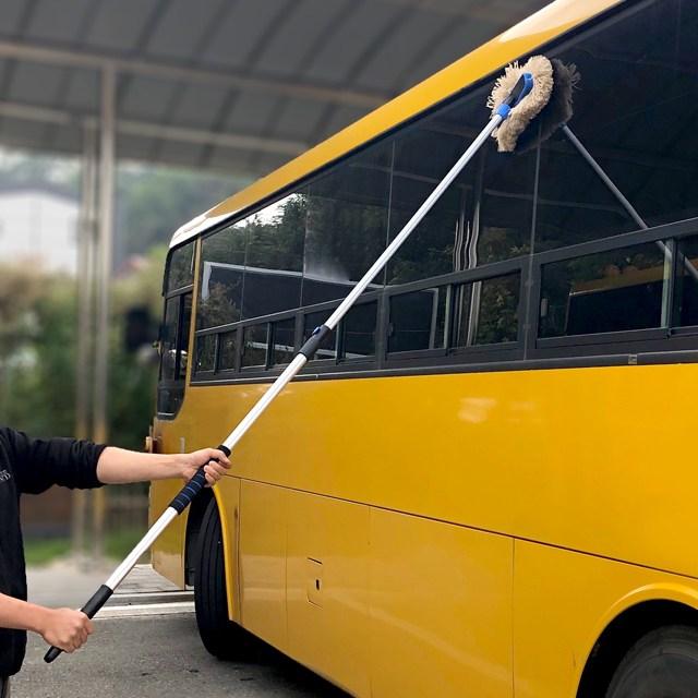 뉴파몰 대형차 트럭 버스 세차 2단 밀대걸레 (대)
