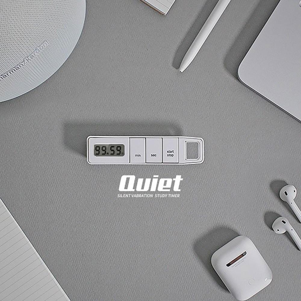 ksw23401 3가지 알람설정 무소음 타이머 스톱워치 1p vm135 화이트, 본 상품 선택