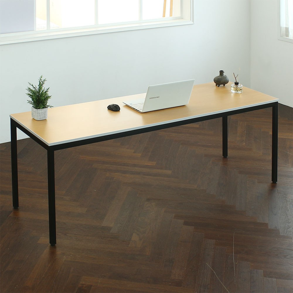 파미가구 아이언데스크 조립식 컴퓨터책상 사무용책상 회의용책상 회의용테이블, W1500*D400(배송메세지에 색상기재)