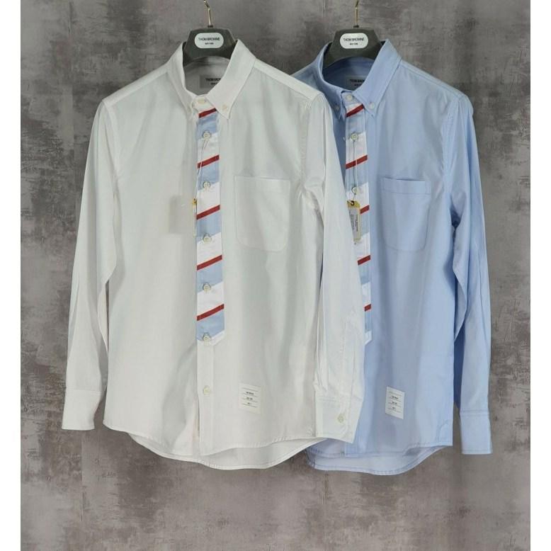 스트릿옴므 톰브라운 20FW 유니버시티 넥타이 셔츠