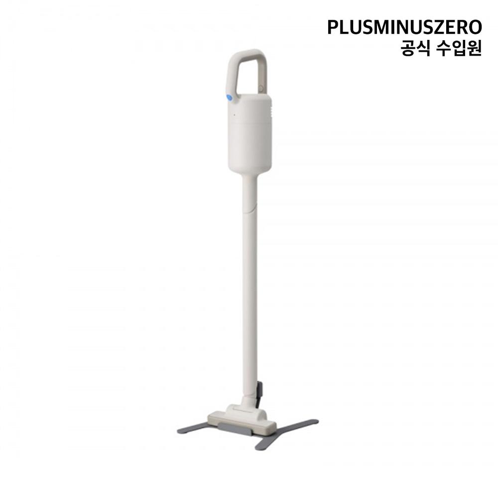 플러스마이너스제로 +-0 무선 청소기 Y010 (국내 정식 수입) 스틱청소기, Matt 화이트(라이트 그레이)